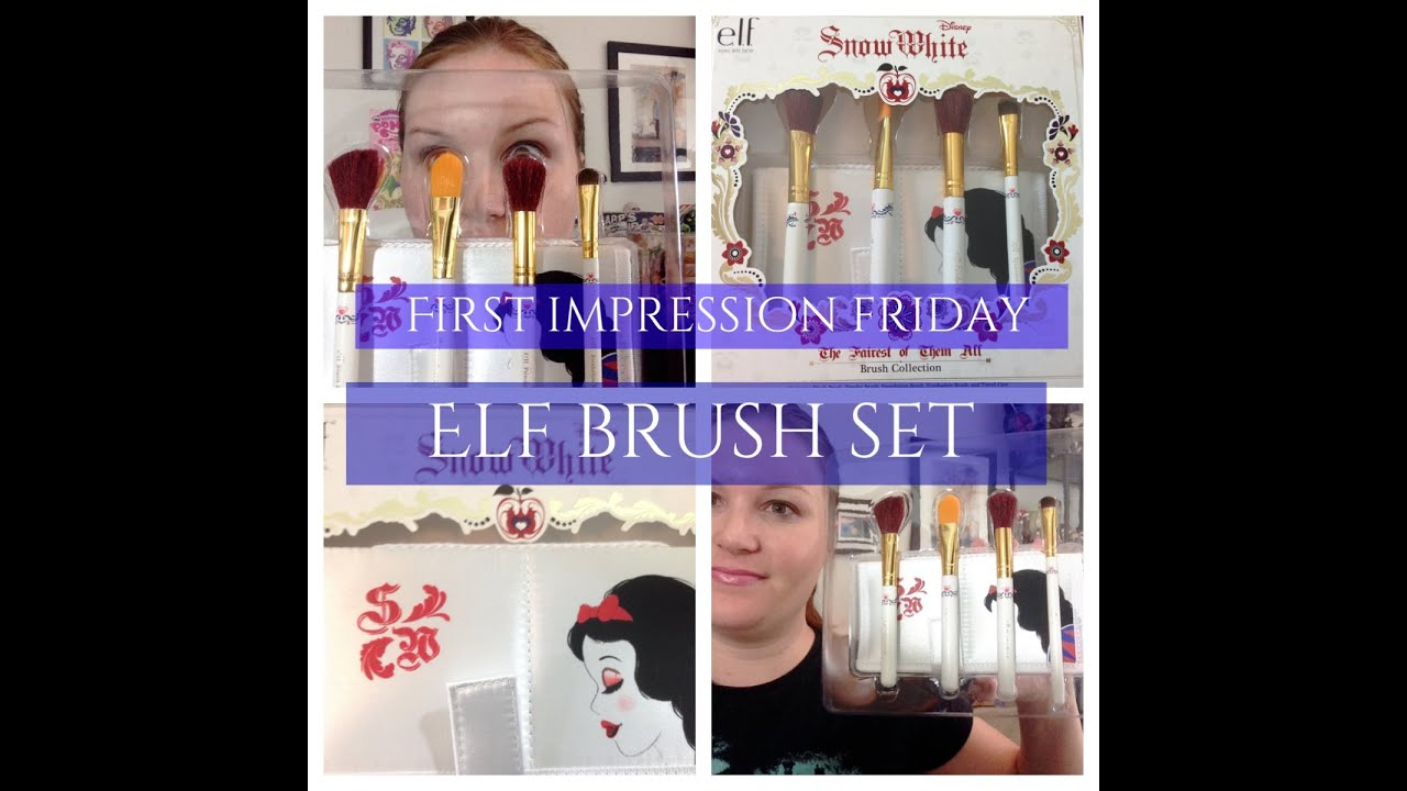 Cosmetics Snow White Disney Makeup Brush Collection Sold at Walgreens ...