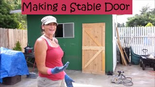 Phase One Garden Shed Remodel/the Door