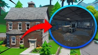 NEW SECRET BUNKERS IN THE NICE PARK! (Fortnite Battle Royale)