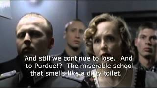 Hitler reacts to Indiana losing to Northwestern