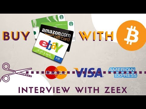 Buy on Amazon, Starbucks etc with ETH and BTC - Interview with Zeex