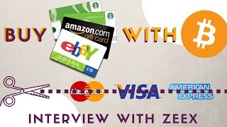 Use Crypto to Buy on Amazon, Starbucks - Interview with Zeex