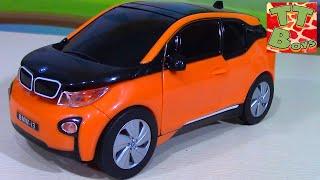 Распаковываем и Собираем Машину BMW i3 - Конструктор для мальчиков - Видео для детей