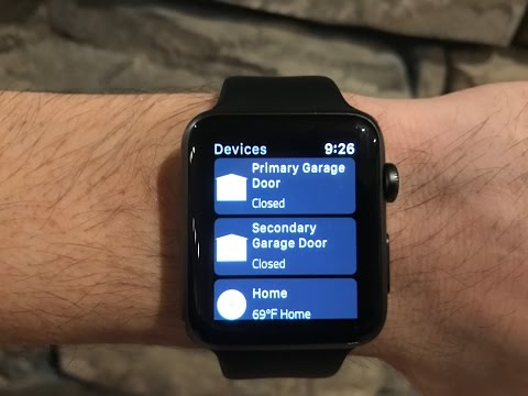 My Q Garage Door now works with Apple Watch!