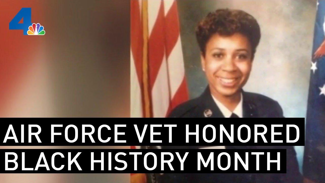Black History Month- US Air Force Veteran Honored 2/10/21