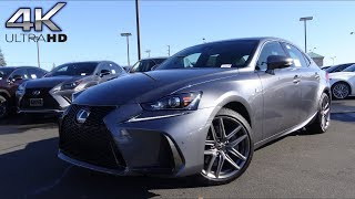 2018 Lexus IS300 F-Sport 3.5 L V6 Test Drive & Review