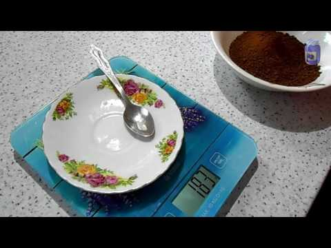 В столовой ложке грамм, в чайной ложке мл, меры продуктов