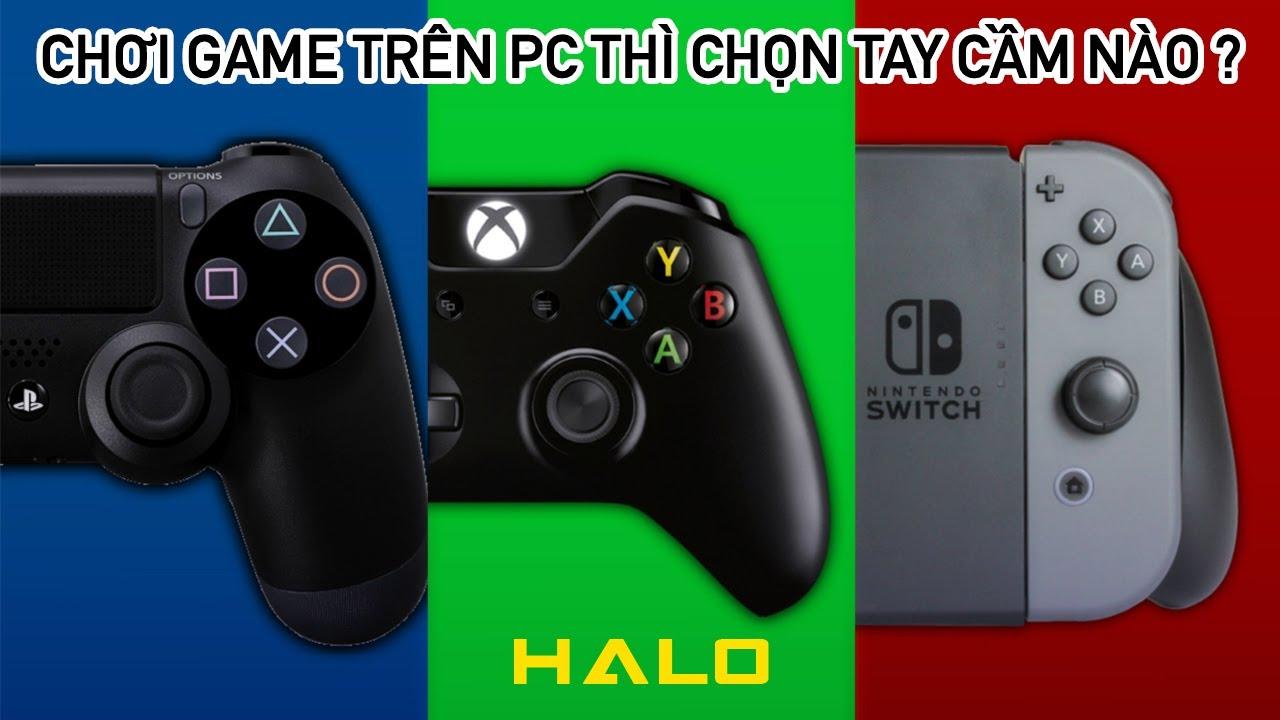 [HALO GAME]CONTROLLER NÀO PHÙ HỢP NHẤT ĐỂ GAMING TRÊN PC? (XBOX ONE CONTROLLER, DUALSHOCK4, JOY-CON)