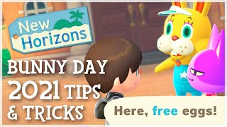 Animal Crossing New Horizons - BUNNY DAY 2021 TIPS & TRICKS You Need To Know!