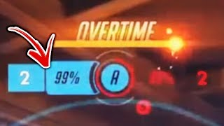 Most Insane Overtimes - Overwatch Montage