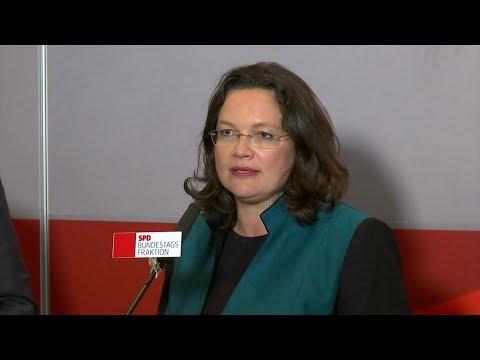 Neue SPD-Fraktionschefin: Neustart mit Andrea Nahles