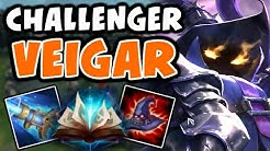 Challenger Veigar Mid | Over 1100 AP | ft. IKeepItTaco | 10.4 - League of Legends