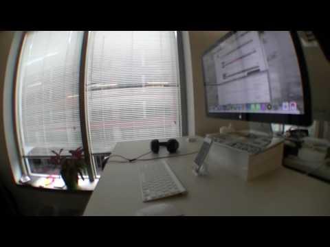 Timelapse / Writing Code - Standing Desk Test