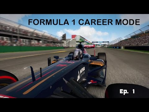 My mechanic won't shutup! - Formula 1 Episode 1 (career mode)