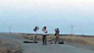 3 Kurdish ISIS Surrender to Peshmerga - Kirkuk 11Oct 2015