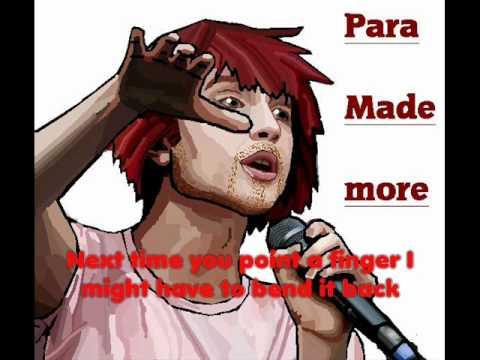Para made more  Playing God male paramore