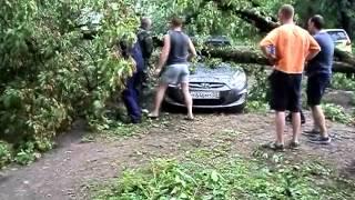 В Коврове ЧС - прошел ливень, с градом и ураганом(, 2015-05-30T19:08:31.000Z)