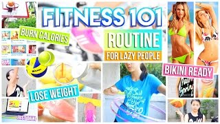 Stay Fit: Fun Exercises, DIY Drinks, Essentials, Outfit & Motivation + Life Hacks/Tips | AlohaKatieX