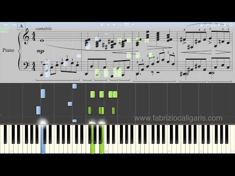White Christmas - piano cover - tutorial