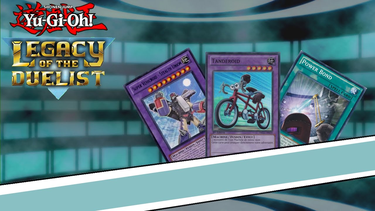 Yu gi oh legacy of the duelist deck roid youtube