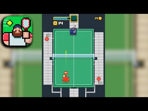 TIMBER TENNIS Gameplay (iOS Android)
