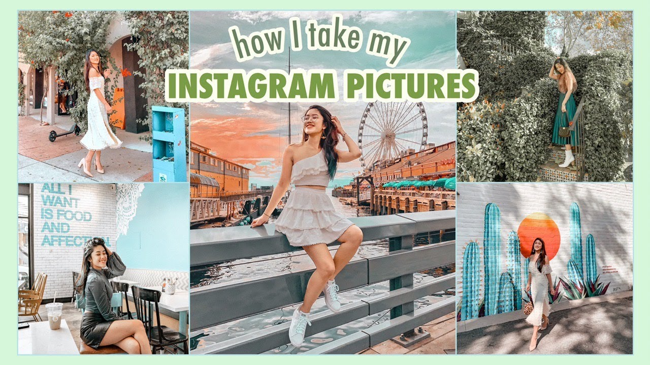 #11 NHỮNG TƯ THẾ CHỤP ẢNH ĐẸP SỐNG ẢO | How I Take My Instagram Pictures ♡ TRAM LE ♡