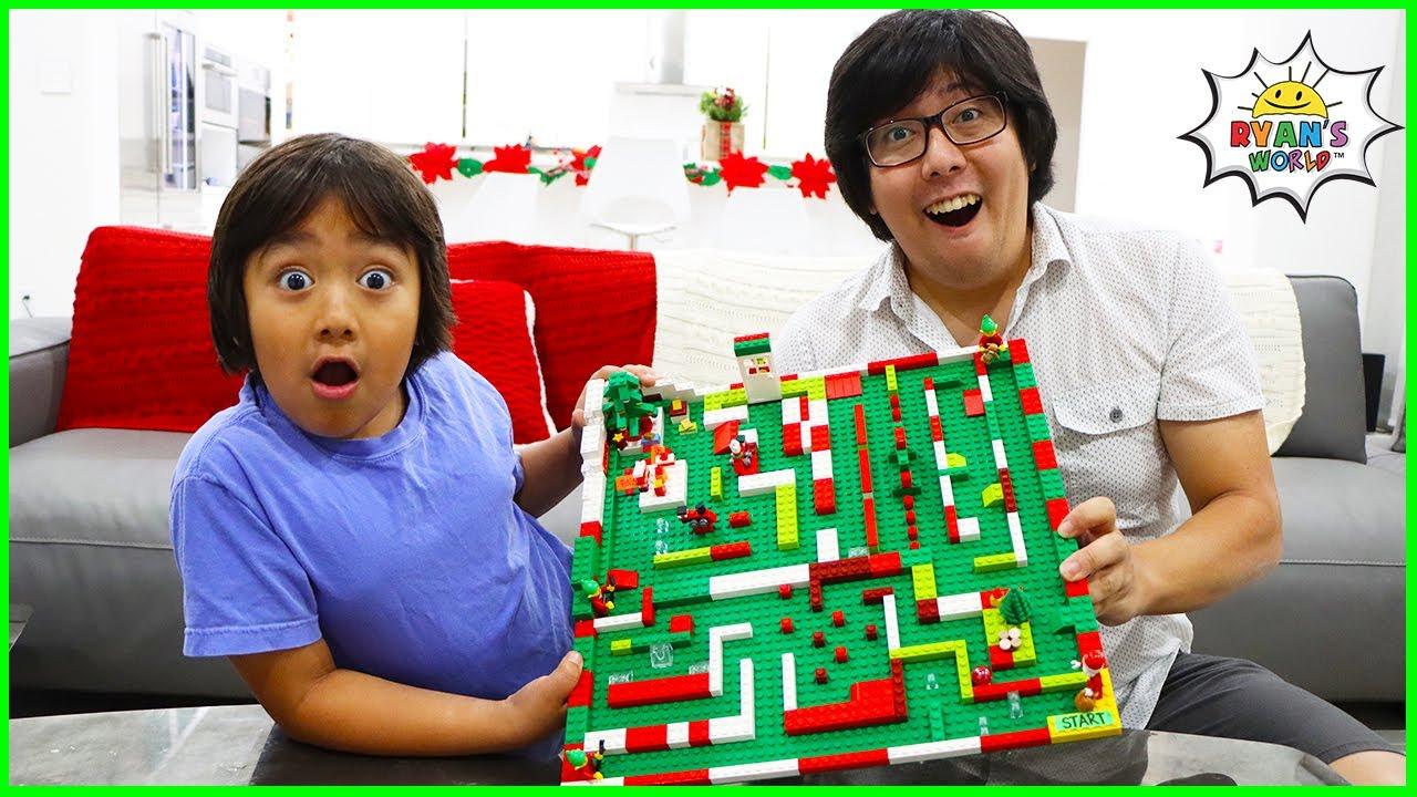 Как сделать самодельный мраморный лабиринт и другие развлечения для детей !!!
