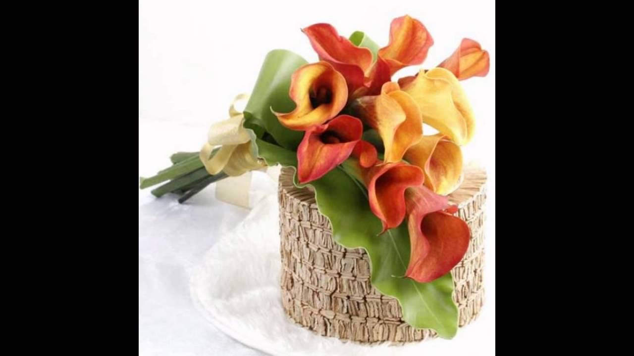 bouquet flower arrangement - YouTube