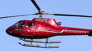 Kyle Flood arrives at Rutgers by helicopter