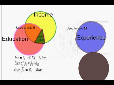 7 Econometrics Specification 2b: Omitted Variable Bias