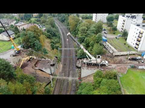 Prace na wiadukcie w Radlinie