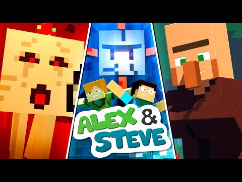 Thumbnail: The Minecraft Life of Alex & Steve | MOVIE 1 | Minecraft Animation