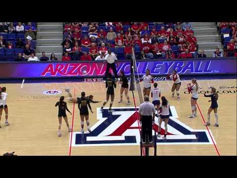 Arizona Volleyball vs ASU Game Highlights