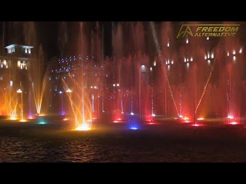 The Dancing Fountain in Yerevan (bonus video)