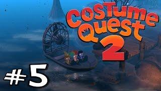 Costume Quest 2 | E05 | Boat Repairs! (Gameplay / Playthrough / 1080p)