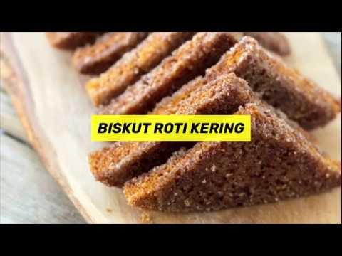Step By Step Resepi Kuih Kering Mudah - Hidangan Melayu