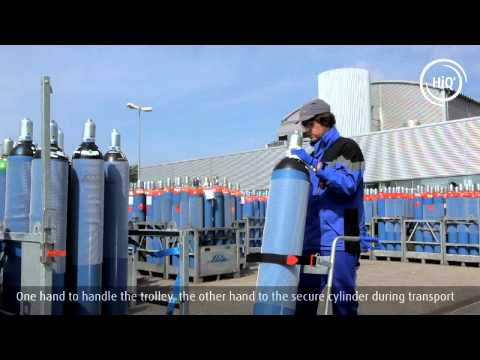 Deliver A Specialty Gas Cylinder To Laboratory