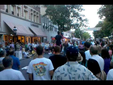Musikfest Bethlehem, main street.