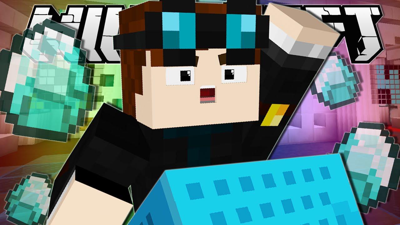 Minecraft | HUNT FOR THE DIAMOND MINECART!! - YouTube