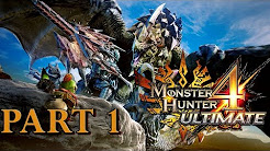 Let's play Monster Hunter 4 Ultimate German