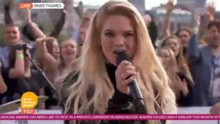 Clean Bandit - TEARS ft. Louisa Johnson (Live GMB 2016)