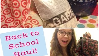 Huge Back to School Haul: Target, Garage & More Thumbnail
