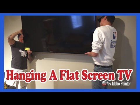 How To Hang A Flat Screen Tv Fast And Easy