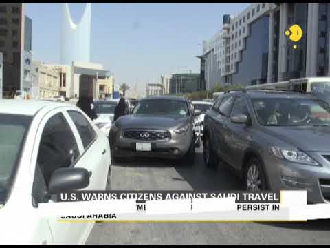 U.S. warns citizens against Saudi travel
