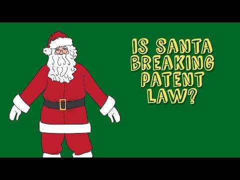 Is Santa Breaking IP Law?