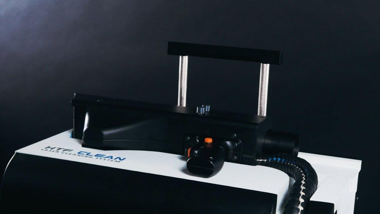 Лазерная очистка 1 кВт лазером - YouTube