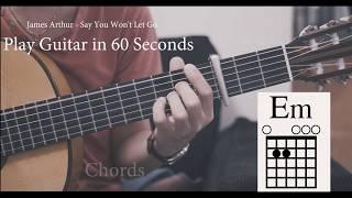 James Arthur Say You Won T Let Go Guitar Cover Guitar Lesson Tutorial W Chords