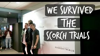 WE SURVIVED THE SCORCH TRIALS