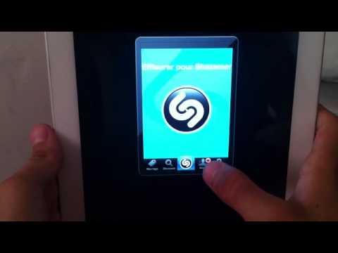 Reconnaître une musique sur un Smartphone - application shazam
