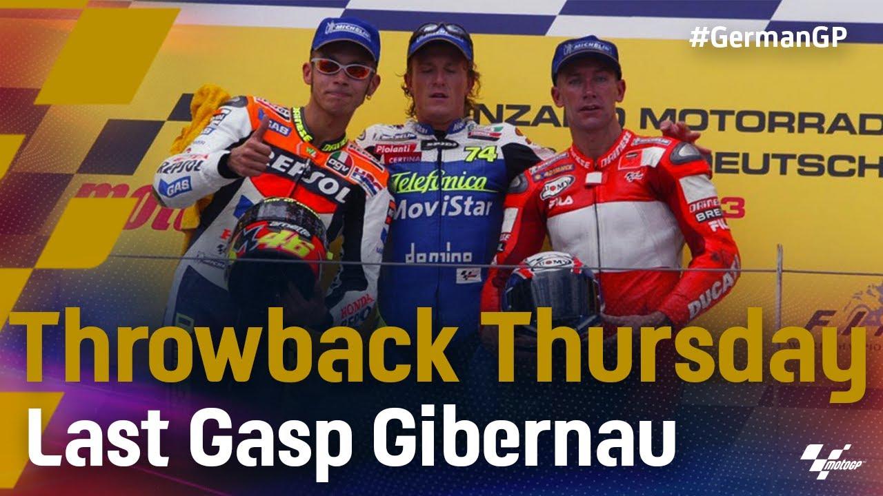 #ThrowbackThursday: 2003 German GP